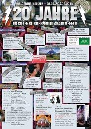 Handzettel Programm