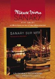 Mieux Vivre N°147 Juillet 2011 (.pdf - 2,71 Mo) - Sanary-sur-Mer