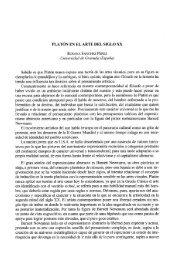 """PLATÃ""""N EN EL  ARTE DEL SIGLO XX ROSANA ... - InterClassica"""
