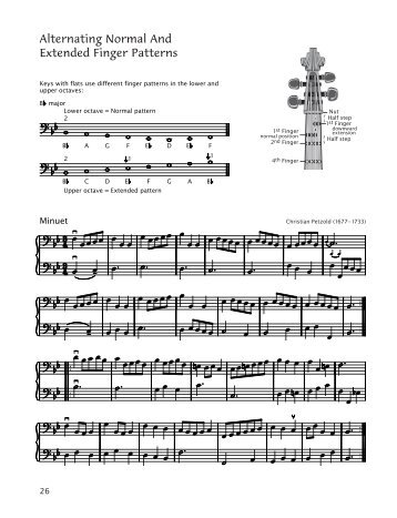 Alternating Normal And Extended Finger Patterns