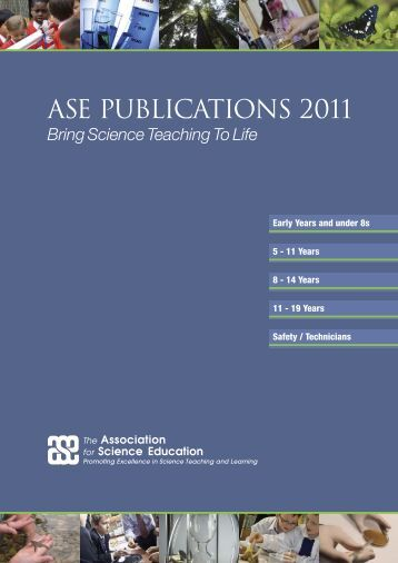 2011 catalogue - The Association for Science Education