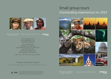 Small group tours - Regent Holidays