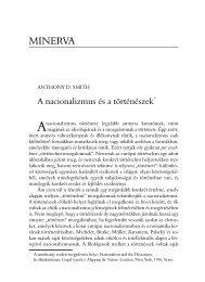Regio - Kisebbség, politika, társadalom 11.évf. (2000.) 2.sz.