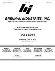 Brennan Industries DP6504-04 Steel Test Coupling 4 JIC x 7//16-20 UNF 4 JIC x 7//16-20 UNF Inc.