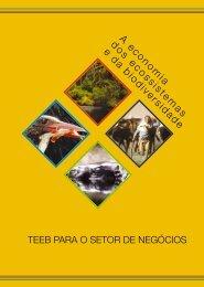 A Economia dos Ecossistemas e da Biodiversi - CNI