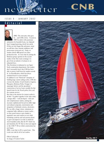 525 ko January 2002 - CNB Yachts