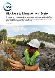 Biodiversity Management System