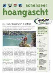 Achenseer Hoangascht - Gemeinde Eben am Achensee - Land Tirol