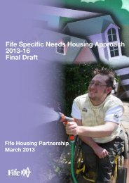 Specific Needs Housing Approach 2013-2016 - Home Page