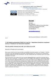 Par e-mail Monsieur Alex Kuprecht Président de la CSSS du ...