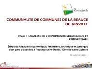 les nouvelles zones d'activités de ROUVRAY- ST - Communauté de ...