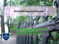 Rhinitis, Polyposis, Sinusitis - Hamilos.pdf - AInotes