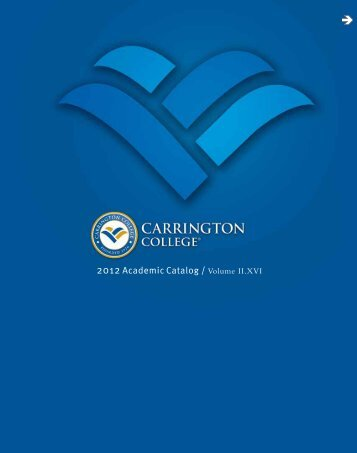 Carrington College Academic Catalog