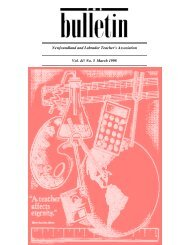 Vol. 41, No. 5, March 1998 Issue of the Bulletin from the NL ...