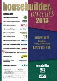 Categories - Housebuilder