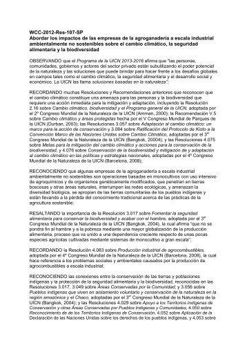 WCC-2012-Res-107-SP Abordar los impactos de las ... - IUCN Portals