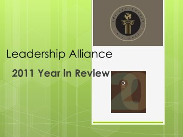 The Leadership Alliance