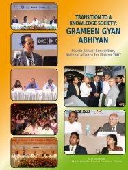 grameen gyan abhiyan Fourth annual convention ... - Mission 2007