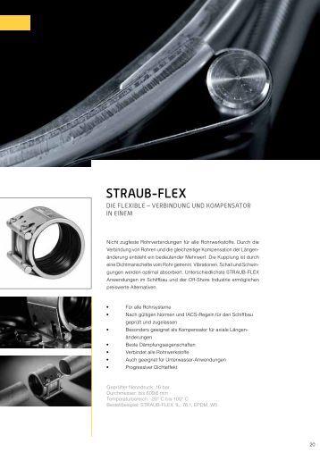 Datenblatt STRAUB-FLEX 1 / 2 / 3