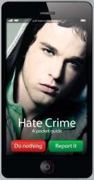 A pocket guide to 'Hate Crime'