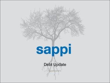 US$ million US$ million Quarter 4 2012 - Sappi