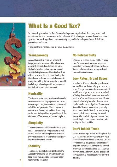 Why Taxes Matter, by Scott A. Hodge - Tax Foundation