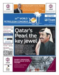 Qatar's Pearl the key jewel - World Petroleum Council
