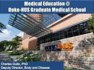 Medical Immunology - Duke-NUS