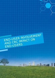 End-user involvement in CRC activities (PDF 147KB) - CO2CRC