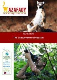 A guide to the Lemur Venture program