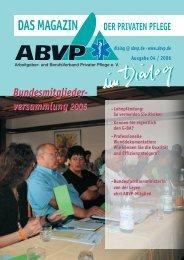 Ausgabe 04 2006 - ABVP