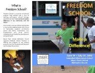 FREEDOM SCHOOL - Myers Park United Methodist Church