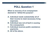 Answers to Quiz Questions - Disability Policy & Studies