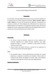 Reglamento concurso regional literario noroeste 2012nov