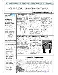 Torbay News 'n Views, Oct/Nov 2009 - Recovery Devon