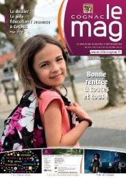 Cognac Mag septembre octobre 2011 - Ville de Cognac