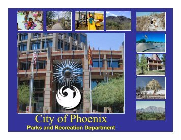 City of Phoenix - Alliance of Arizona Nonprofits