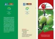 Scarica il depliant illustrativo del Progetto - Regione Campania