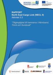 Rapport: Tillgänglighet till hamnarna i Härnösand,Timrå ... - NECL II