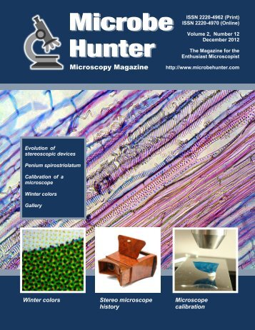 December 2012 - MicrobeHunter.com