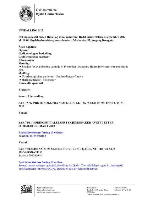 710314ab Innkalling- HSK 05. SEPTEMBER(1) - Bydel Grünerløkka