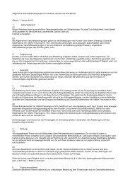 Allgemeine Geschäftsbedingungen für Industrie, Handel und freie ...