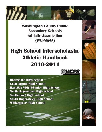 Athletics Handbook - Washington County, MD Public Schools