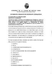 GOBIERNO DE LA CIUDAD DE BUENOS AIRES i - Centro Cultural ...