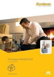 Rondo Plus asennusohje - Schiedel