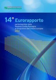 Quattordicesimo Eurorapporto - 2012 - Fondi Europei 2007-2013