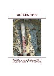 OSTERN 2005 - St. Franziskus Kirche