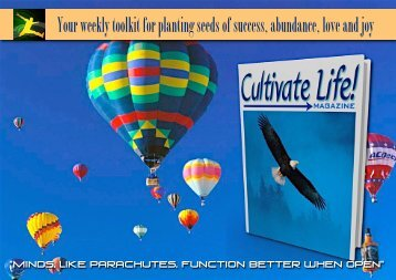 Cultivate Life! Magazine #20 - Trans4mind