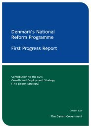 Report on the implementation of the National Reform Programme
