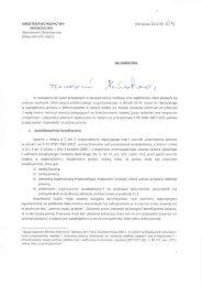 Odpowiedzi na pytania beneficjentów - pismo z dnia 4 maja 2011 r.